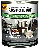 Rust-Oleum 244851 Porch Floor Paint, Pewter Gloss, 1-Quart