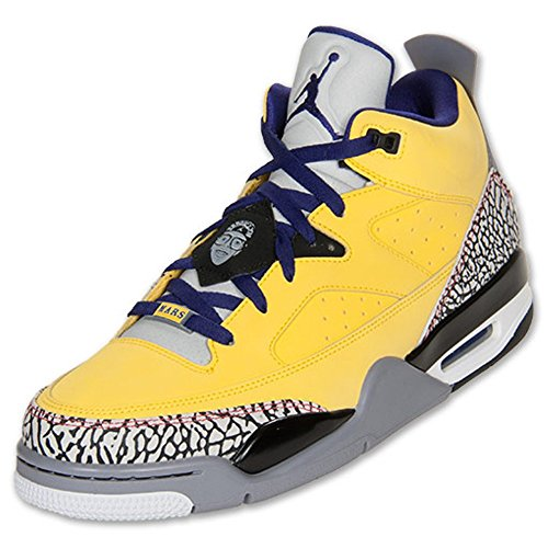 huge discount f1d16 d1454 ... cheap nike jordan son of mars low mens 580603 708 8 tour yellow grape  ice cement ...
