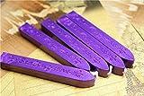 Manuscript Sealing Seal Wax Sticks Wicks for Postage Letter 10PCS Purple