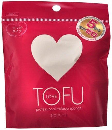 TOFU TOFU LOVE プロフェッショナル スポンジ 2個