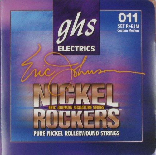 Ghs Electric Guitar Eric Johnson Signature Set .011 - .052, R Plus Ejm
