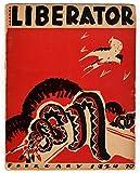 img - for The Liberator Magazine / Febnruary, 1924 / Hugo Gellert cover; Leon Trotsky article book / textbook / text book