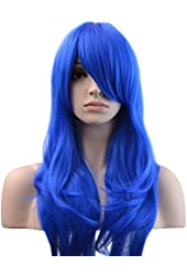 "YOPO? 28 ""High Quality Women's Hair Wig New Fashion Woman's Long Big Wavy Hair Heat Resistant Wig for Cosplay Party Costume"