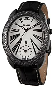 Le Vian Men's ZAG 87 Duo Black Diamond Watch from Le Vian