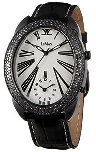 Le Vian Men's ZAG 87 Duo Black Diamond Watch