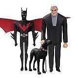 バットマン アニメイテッド バットマン・ザ・フューチャーBOXセット 高さ約15センチ プラスチック製 塗装済みアクションフィギュアセット