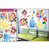 Disney Princess Children's Wall Stickers/Decals/Muralby The Sticker Factory