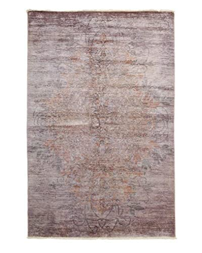 Darya Rugs Ziegler One-of-a-Kind Rug, Pink, 5' 2 x 7' 10