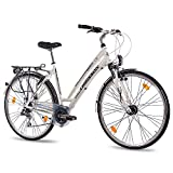 "28"" Zoll LUXUS ALU CITY BIKE TREKKINGRAD DAMENFAHRRAD CHRISSON SERETO"