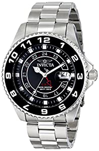 Invicta Men's 17145 Pro Diver Analog Display Swiss Quartz Silver Watch