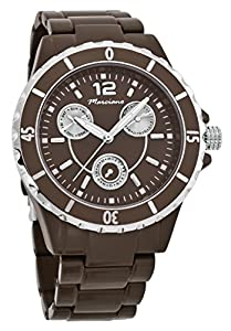 Marciano Women's | Black Boyfriend Chronograph Style Watch With Luminous Hands| FH0036