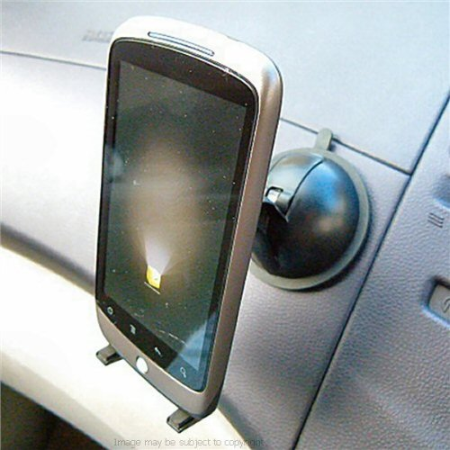 Zs Multi Surface Dash / Window Suction Pu Holder Cell Phone Mount Fits The Htc Galaxy Nexus