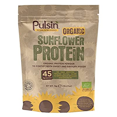 Pulsin 1 kg Organic Sunflower Protein Powder