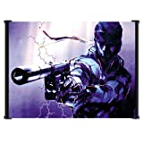 Metal Gear Solid 2 Sons of Liberty Game Fabric Wall Scroll Poster (21