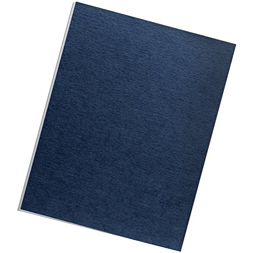 Fellowes Binding Linen Presentation Covers, Letter, Navy, 200 Pack (52098) (Binder Cover compare prices)
