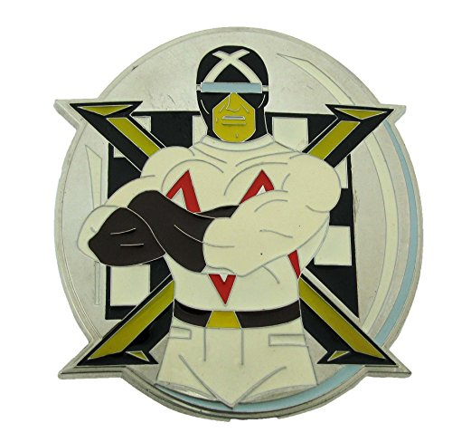 Mens Speed Racer- Racer X Punk Rock Metal Belt Buckle