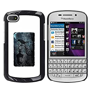 zonecell bild hart handy schwarz schutz h lle case cover schale etui f r blackberry q10 luft. Black Bedroom Furniture Sets. Home Design Ideas
