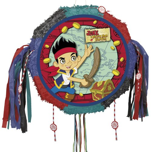 Jake And The Never Land Pirates Pinata With Pull Pop-Out