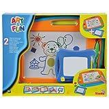 Simba 106332216 - Art & Fun 2 Maltafeln 40x29cm und 16x13cm