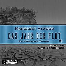 Das Jahr der Flut (Die MaddAddam Trilogie 2) Hörbuch von Margaret Atwood Gesprochen von: Uve Teschner