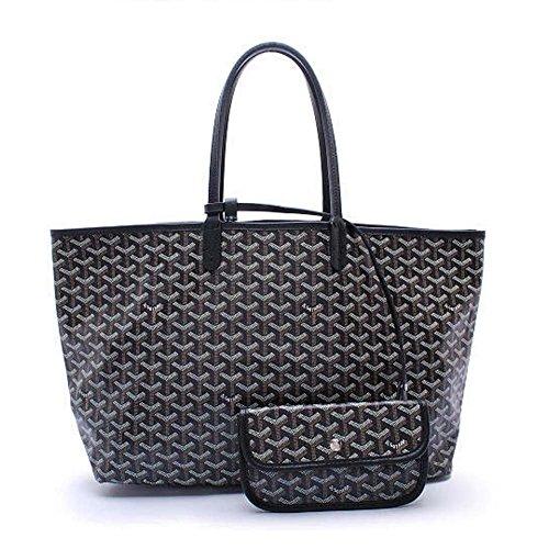 em-lady-tote-pu-leather-shoulder-bag-with-matching-wallet-black