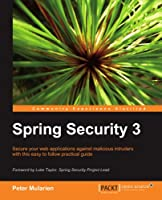 Spring Security 3 Front Cover