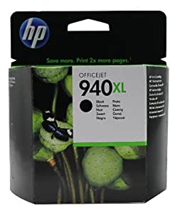 HP 940XL - Black Officejet Ink Cartridge (C4906AE)