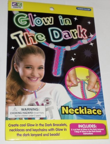 "Create ""Glow in the Dark"" Necklace craft kit - 1"