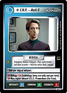 Star Trek Ccg 1e Ha Holodeck Adventures Emh Mark Ii 66u