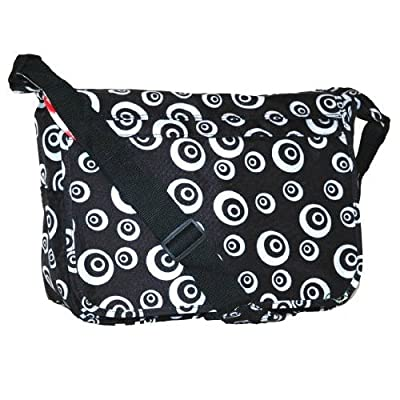 Karabar Student School A4 Messenger Bag (Black)