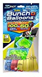 Zuru Bunch O Balloons, 3 different colors, Fill in 60 Seconds, 100 Total Water Balloons