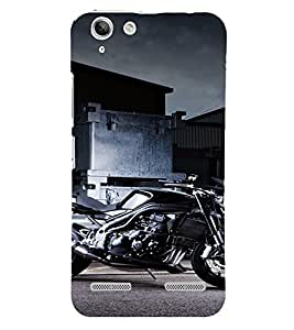 PrintVisa Sports Bike Design 3D Hard Polycarbonate Designer Back Case Cover for Lenovo Vibe K5 Plus