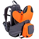 phil&teds Parade Lightweight Backpack Carrier, Orange/Grey