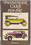 img - for Passenger cars, 1924-1942 book / textbook / text book