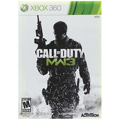 Call Of Duty Modern Warfare 3 Dvd Cover (2011) XBOX 360