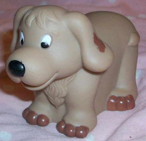 Buy Low Price Mattel Fisher Price Little People Dog Puppy Replacement Figure Doll Toy (B00258FXFC)