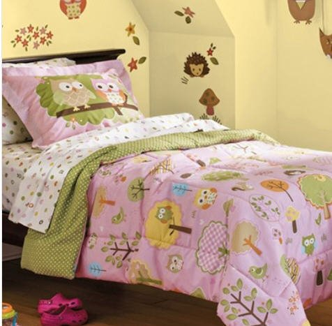Pottery Barn Owl Bedding Set