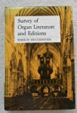 img - for Survey of Organ Literature and Editions book / textbook / text book