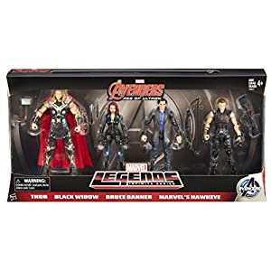 "Avengers 6"" Movie Legends Action Figure (Pack of 4)"