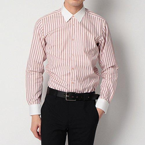 (ボイコット)BOYCOTT マルチストライプコットンシャツ ホワイト(301) 03(L)