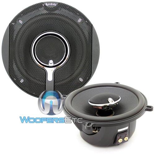 """Infinity Kappa 5 1/4"""" 2-Way Loudspeaker-Pair(Black)"""