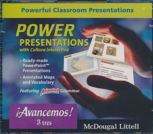 ?Avancemos!: Power Presentations Cd-Rom Level 3 (Spanish Edition)