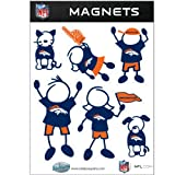 NFL Denver Broncos Family Magnet Set at Amazon.com