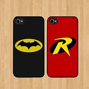 Amazon.com: Batman and robin Best Friends iphone 4 /4S ...