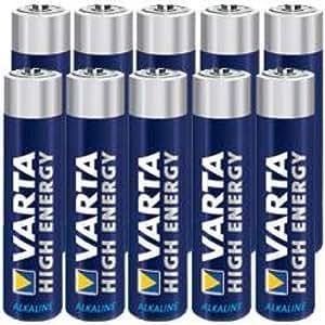 10 Stück Varta Micro AAA High Energy Alkaline Batterien