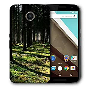Snoogg Cutting Down The Trees Printed Protective Phone Back Case Cover For LG Google Nexus 6