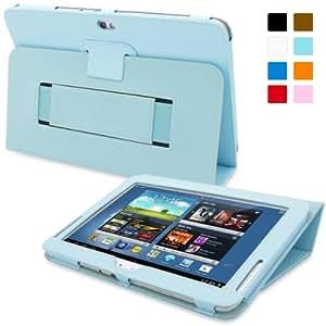 Snugg™ - Étui Pour Samsung Galaxy Note 10.1 - Smart Case Avec Support Pied Et Une Garantie à Vie (En Cuir Bleu) Pour Samsung Galaxy Note 10.1