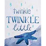Cici Art Factory Twinkle Little Star Wall Decor, Blue