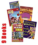 img - for Halloween Pack for Kids: Junie B. Jones, Boo and I Mean It; Trixie the Halloween Fairy; Dear Dumb Diary, My Pants Are Haunted; Judy Moody Predicts the Future (Book sets for Kids : Grade 2 - 3) book / textbook / text book