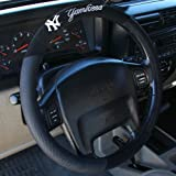 51c7GFC fHL. SL160  MLB New York Yankees Poly Suede Steering Wheel Cover